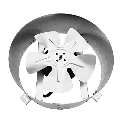 ​​Amtrak Solar's Powerful 40-Watt Galvanized Steel ​Fan