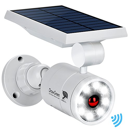 ​Draw Green Solar Lights Outdoor Motion Sensor Aluminum