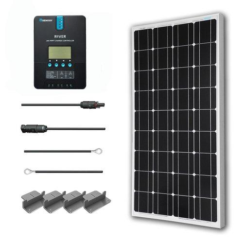 Renogy 100 Watt Monocrystalline Solar Starter Kit
