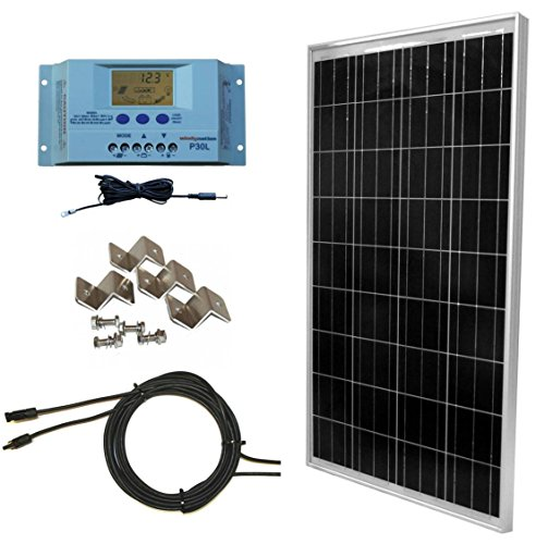 WindyNation 100 Watt Solar Panel Off-Grid